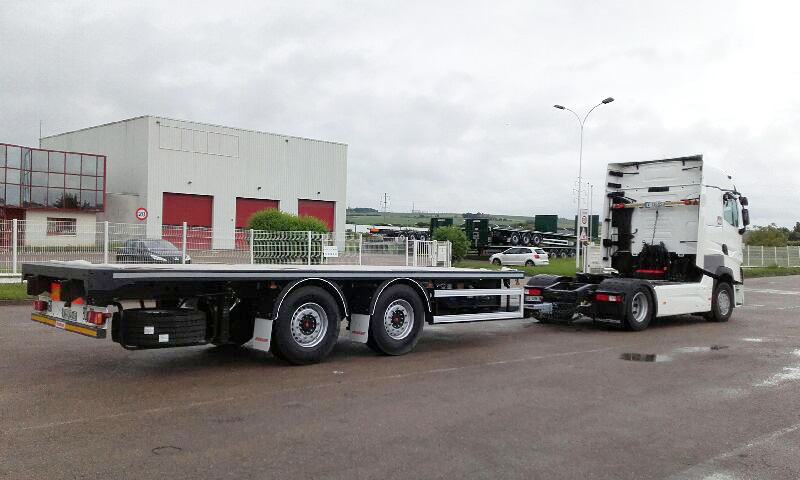 Traction de remorques - Remorque à essieux centraux