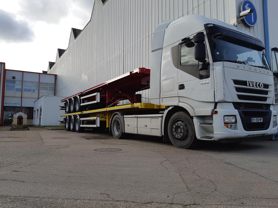 Transport Mercure Transit pour Asca Carrossier Constructeur