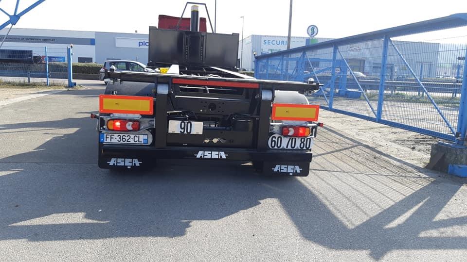 Convoyage Mercure transit