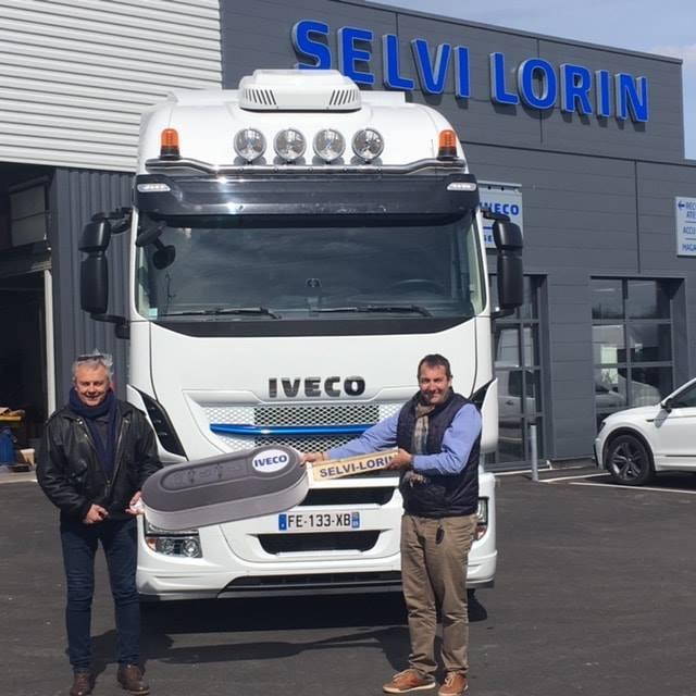 Nouveau tracteur supplémentaire fonctionnant au gaz liquéfié chez Mercure Transit