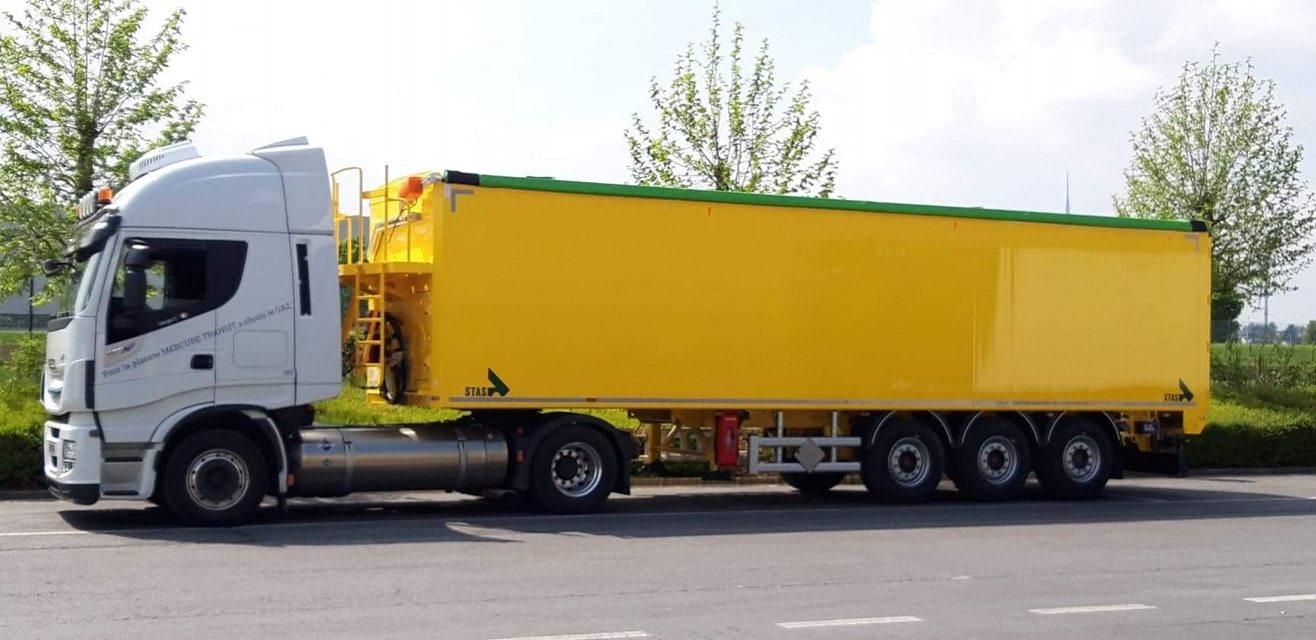 Transfert depuis la Belgique Mercure Transit