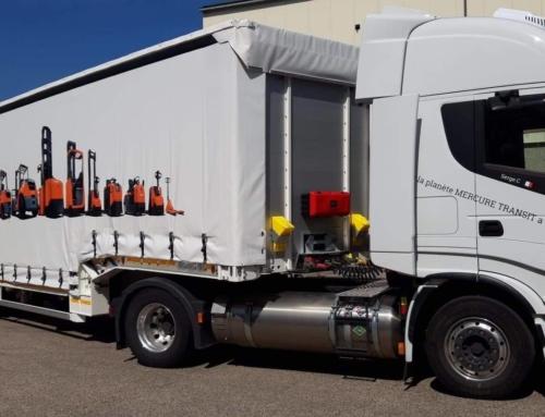 Traction depuis la Belgique pour le transporteur XPO.