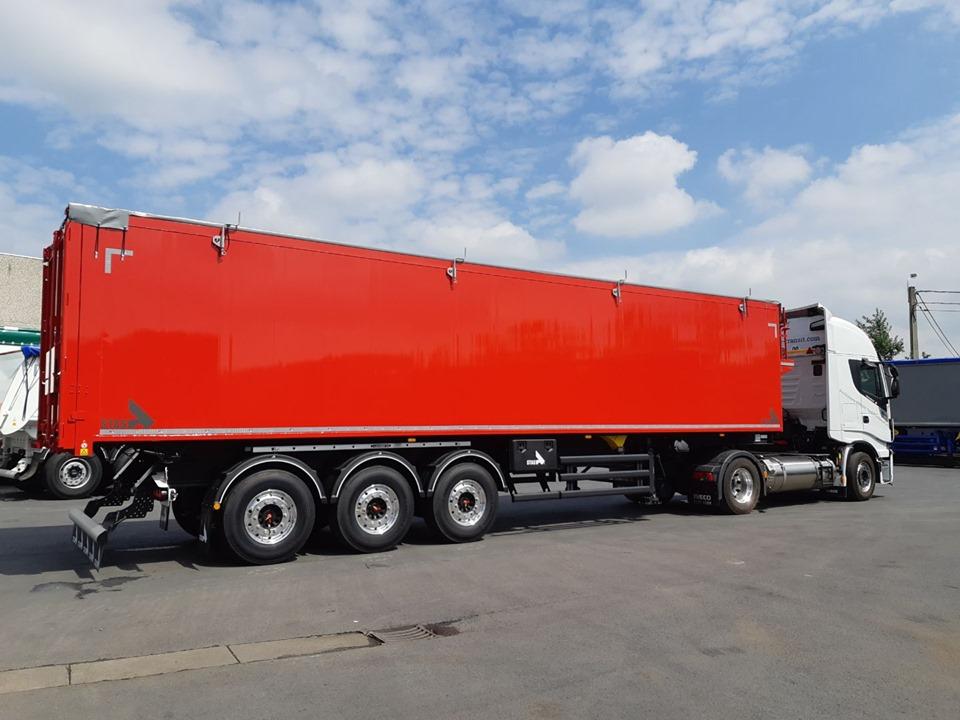 Transfert depuis la Belgique pour notre client NEW LM!