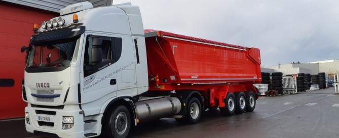 Départ site de production dans le Nord pour livraison à Mâcon. Un grand merci à notre client fidèle ALS REMORQUES