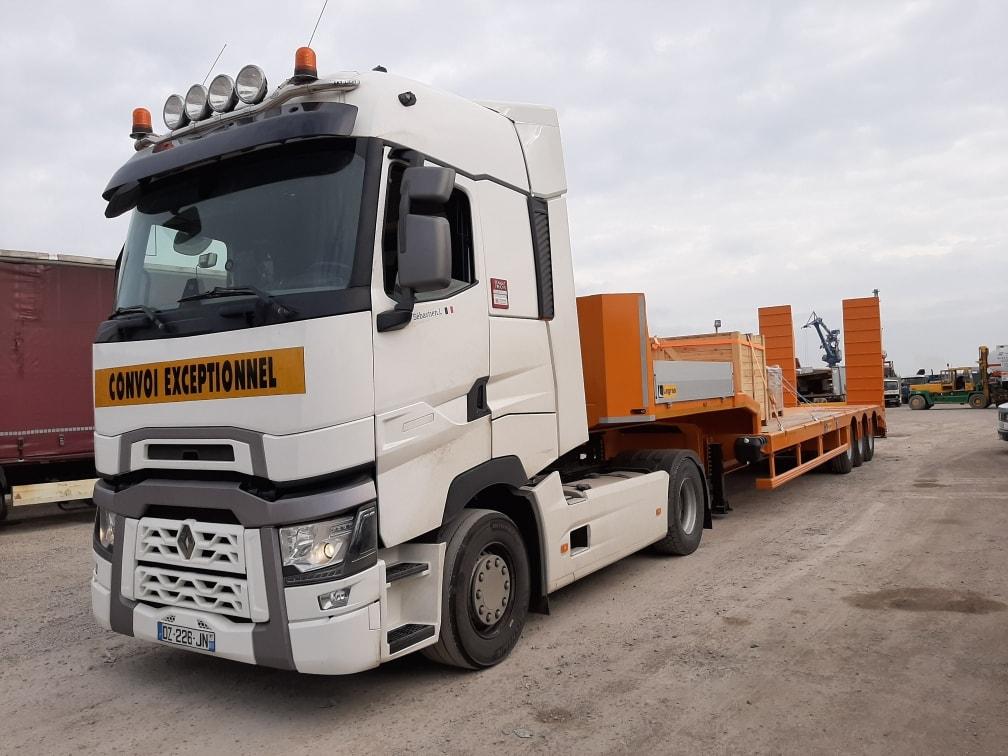 convoi execptionnel afrique Mercure Transit