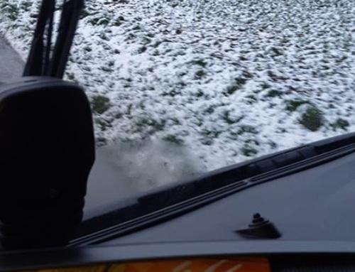 Livraison dans l'Oise sous la neige… Prudence !